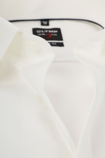OLYMP Shirt Level 5 BF Off-White