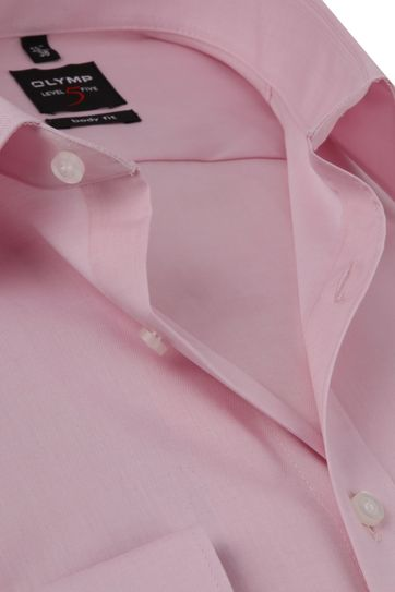 OLYMP Shirt Level 5 BF Pink