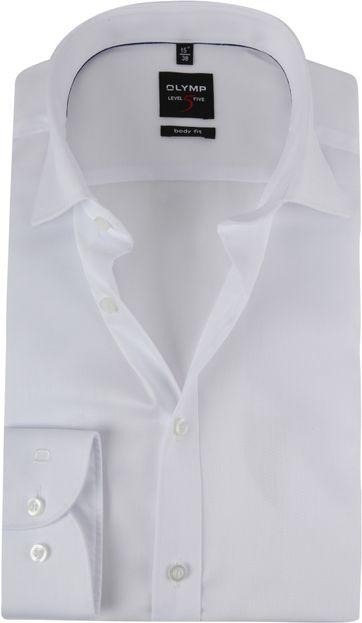 OLYMP Shirt Level 5 BF White