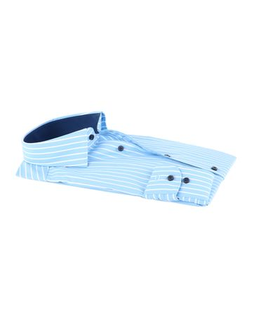Detail Olymp Shirt Level 5 Blauw Body Fit