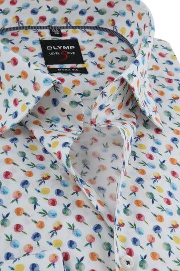 OLYMP Shirt Level 5 Print