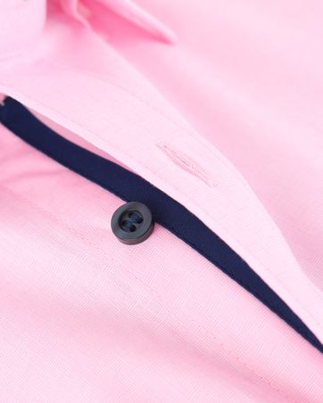Detail Olymp Shirt Level 5 Roze Body Fit