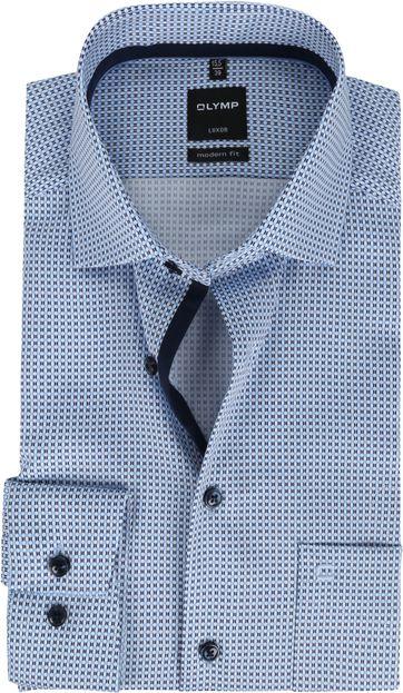 OLYMP Shirt Luxor 1381 MF Blue