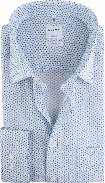 OLYMP Shirt Luxor CF Blue