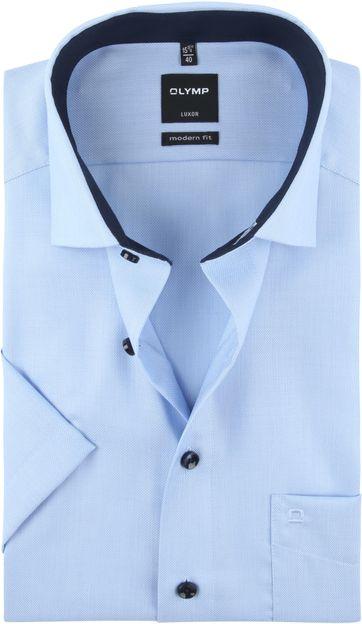 OLYMP Shirt Luxor Light Blue