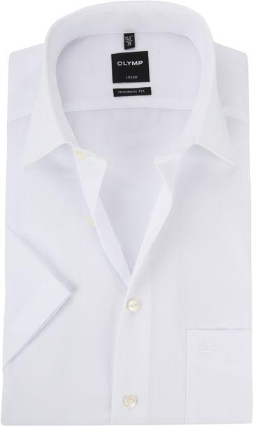 OLYMP Shirt Luxor SS White