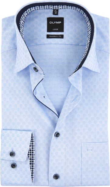 OLYMP Shirt Luxor MF Light Blue