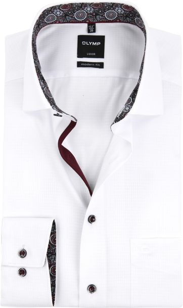 OLYMP Shirt Luxor MF White
