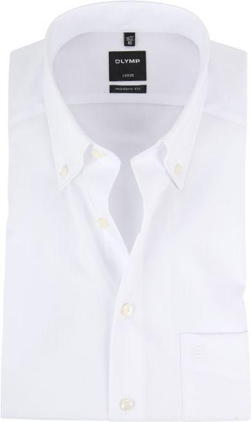 OLYMP Shirt Luxor White Short Sleeve