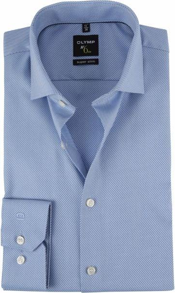 OLYMP Shirt No.6 Blue Stripes