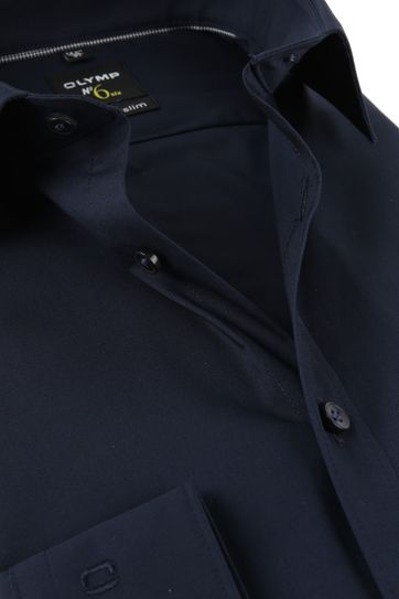 OLYMP Shirt No.6 Navy