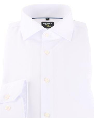 Detail Olymp Shirt No\'6 Wit
