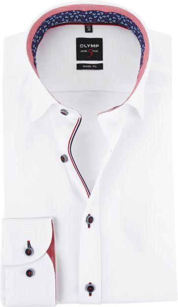 OLYMP Shirt White Level 5