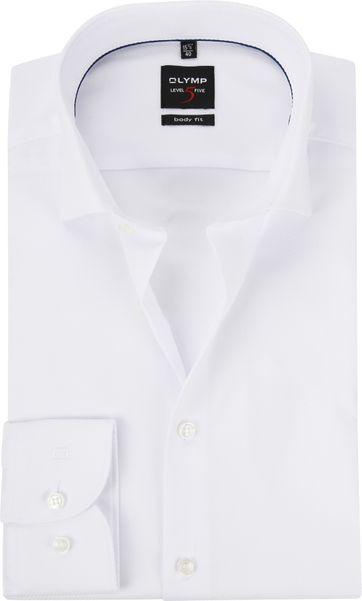 OLYMP Shirt White Level 5 BF