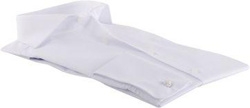 Detail Olymp Shirt Wit Body-Fit Dubbelmanchet