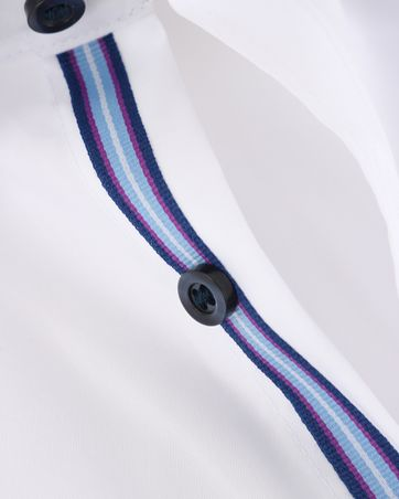 Detail Olymp SL7 Shirt Wit