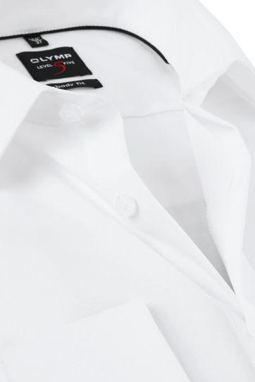 OLYMP Smoking Hemd Level 5 Weiß