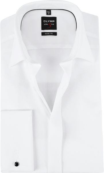 OLYMP Smoking Shirt Level 5 BF White