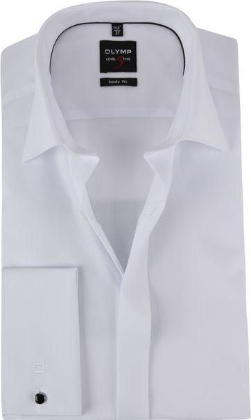 OLYMP Smoking Shirt Level 5 BF White