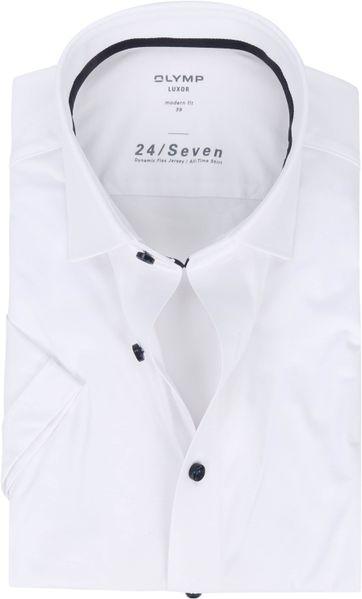 OLYMP SS Shirt Luxor 24/Seven MF White