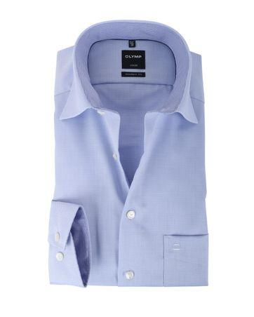 Olymp Strijkvrij Overhemd Modern Fit Lila
