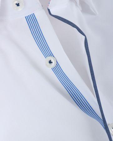 Detail Olymp Strijkvrij Overhemd Modern Fit Wit SL7