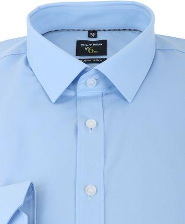 Detail Olymp Super Slim Fit Overhemd Blauw