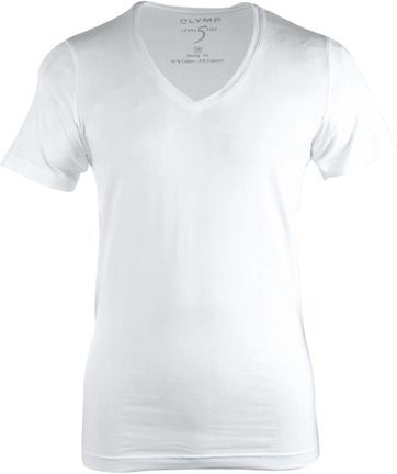Olymp T-shirt Deep V-Neck Stretch