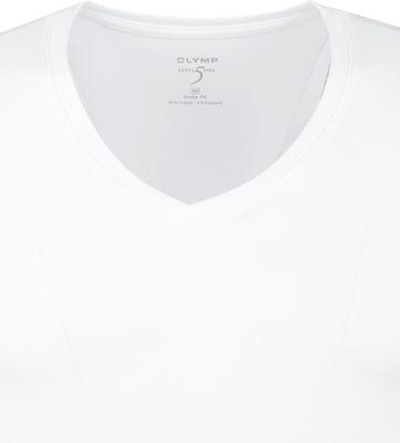 Olymp T-shirt Deep V-Neck Stretch