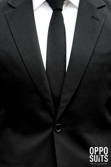 Detail OppoSuits Black Knight Kostuum