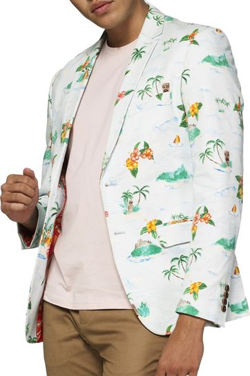OppoSuits Blazer Hawaiian