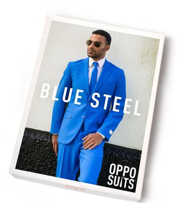 OppoSuits Blue Steel Suit