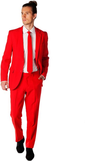 OppoSuits Red Devil Kostuum