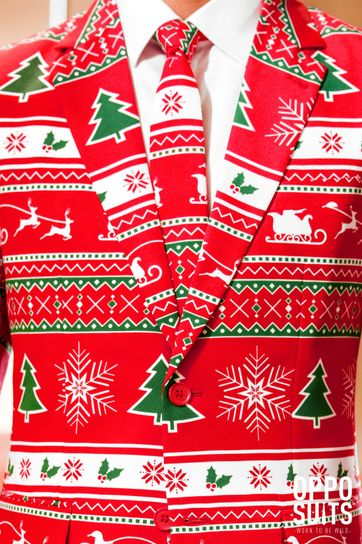 Detail OppoSuits Winter Wonderland Kostuum