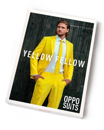 OppoSuits Yellow Fellow Kostüm