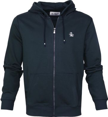 Original Penguin Hooded Vest Navy