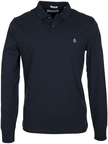 Original Penguin Longsleeve Polo Navy