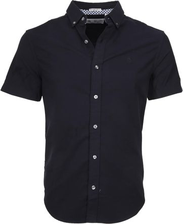Original Penguin Oxford Overhemd SS Navy