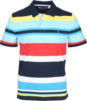 Original Penguin Polo Colour Stripes