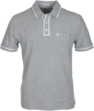 Original Penguin Polo Earl Grijs