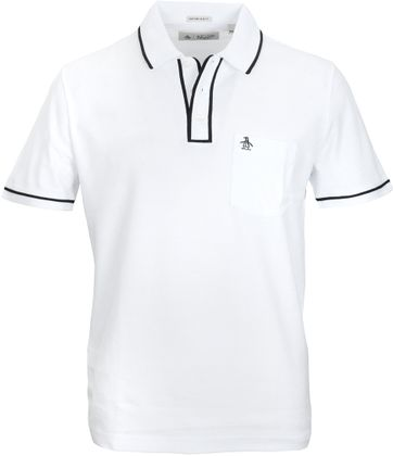 Original Penguin Polo Earl Wit