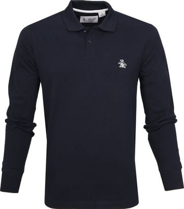 Original Penguin Polo Raiser Rib Navy