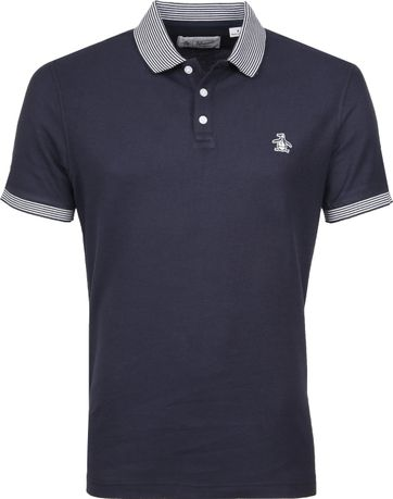 Original Penguin Polo Streep Navy