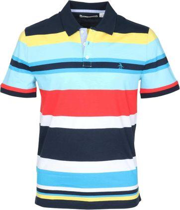 Original Penguin Poloshirt Farbe Streifen