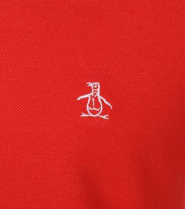Detail Original Penguin Poloshirt Orange