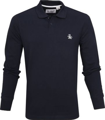 Original Penguin Poloshirt Raiser Rib Navy