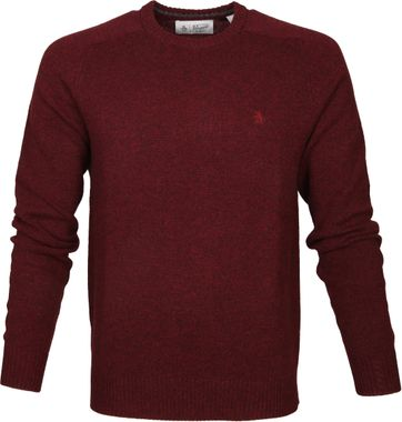Original Penguin Pullover Lambswool Bordeaux