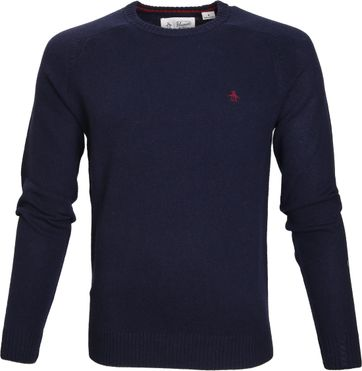 Original Penguin Pullover Lambswool Navy