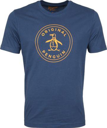 Original Penguin T-shirt Circle Dunkelblau
