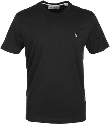 Original Penguin T-shirt Zwart